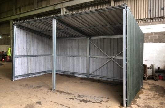 3m x 3m Kit Building - Full Image