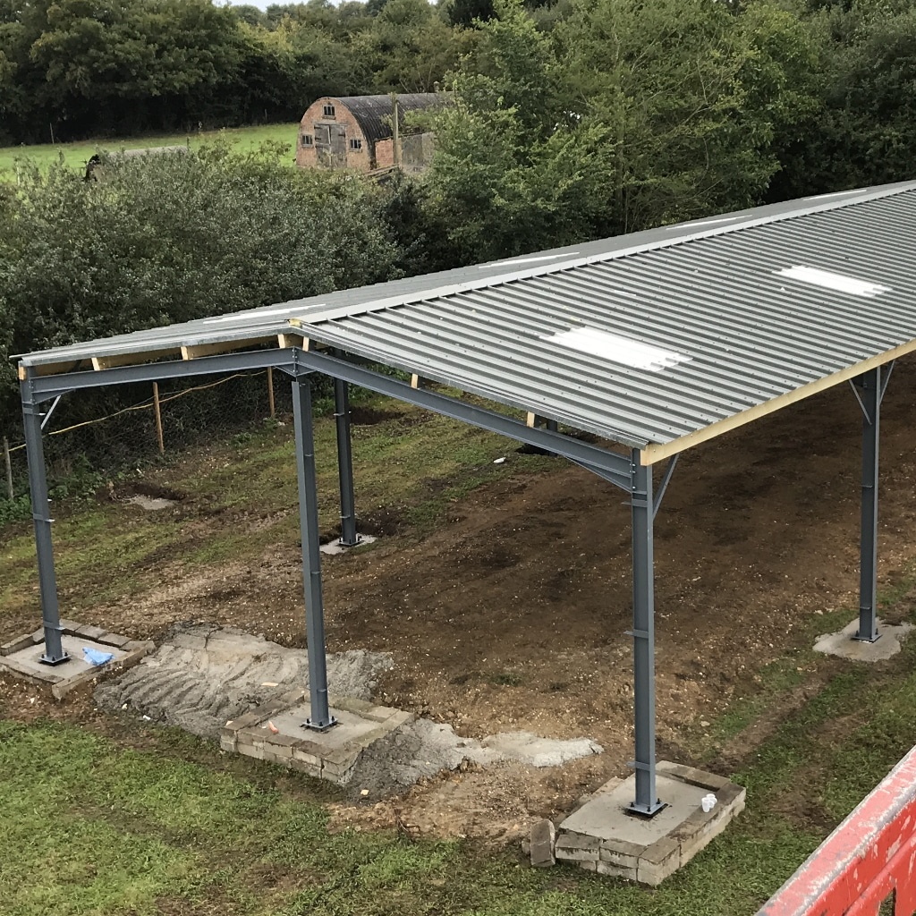 Steel Framed Farm Buildings